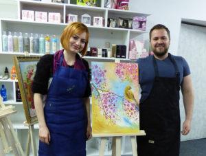уроки художника Пугача Андрея