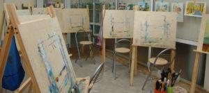 студия для мастер класса художника
