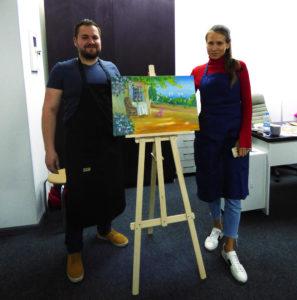 Обучение рисованию масляными красками