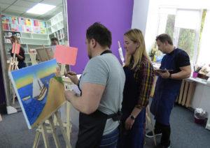 мастер-классы в киеве для начинающих художников