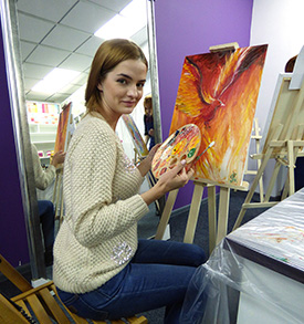 мастер-класс в Киеве фото