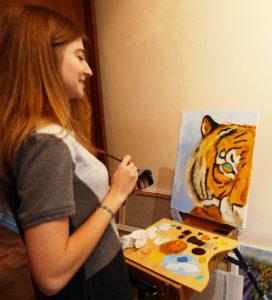 мастер-класс с художником