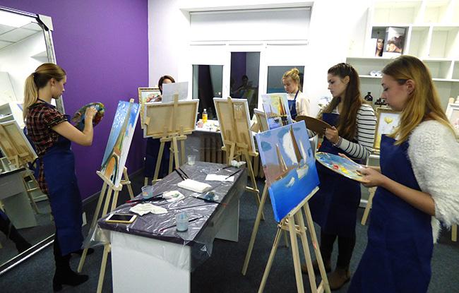 художественные мастер классы в Киеве