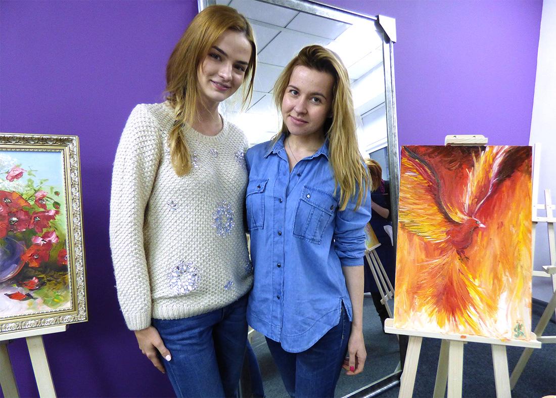 художественный мастер-класс в Украине