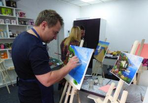 художник Пугач Андрей мастер-классы в Киеве