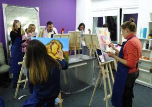 мастер класс по рисованию для взрослых киев