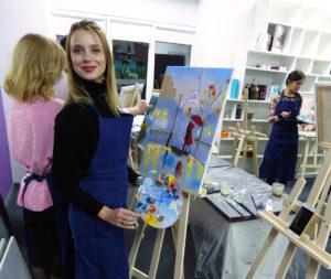 мастер класс украинского художника