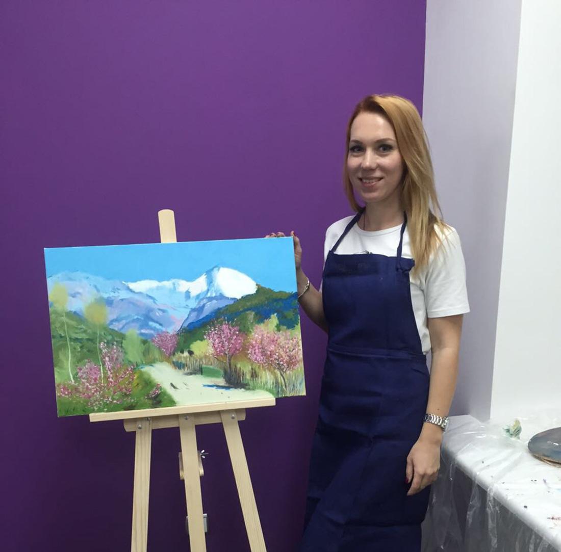 учиться рисовать с художником