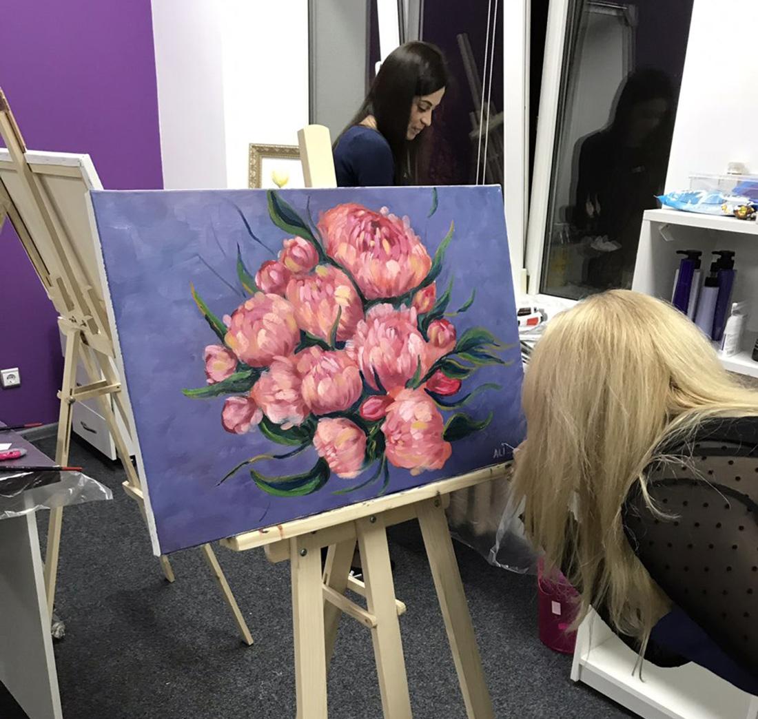 мастер класс по масляной живописи в киеве