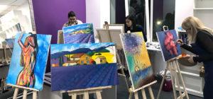 мастер класс художника в феврале Andrew Pugach