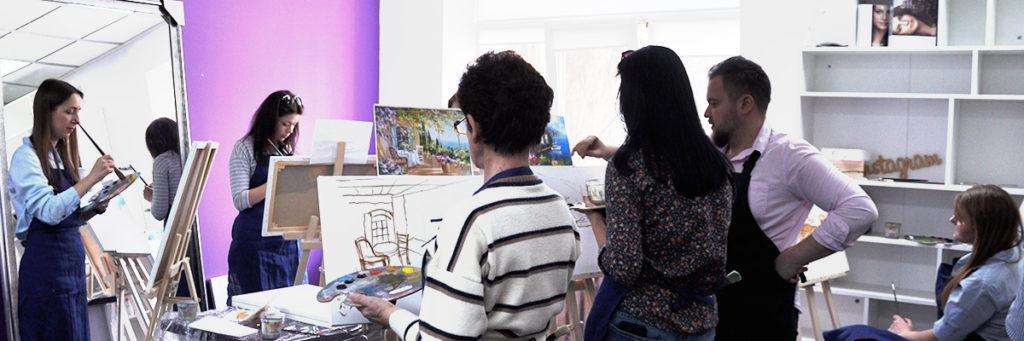 Мастер-класс по масляной живописи в Киев