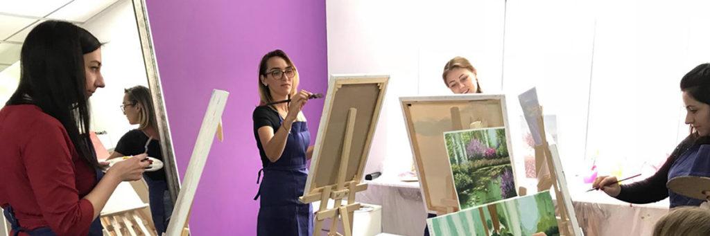Мастер-класс по рисованию для взрослых Киев