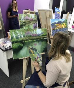 как рисовать маслом уроки художника