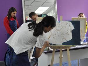 как рисовать цветы на уроках художника