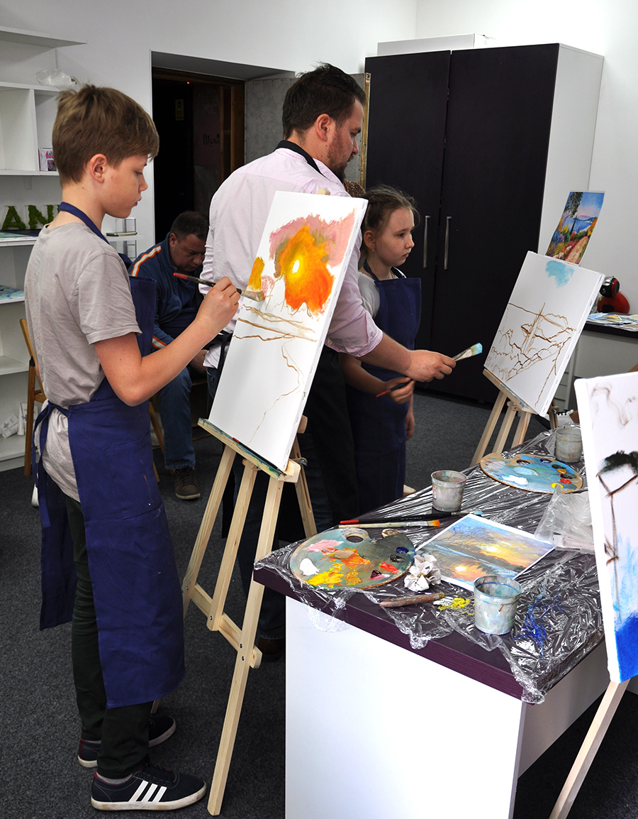 занятия с художником для детей