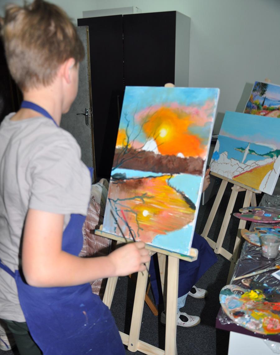 художественные уроки для детей