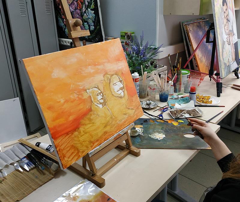 мастер класс как рисовать льва