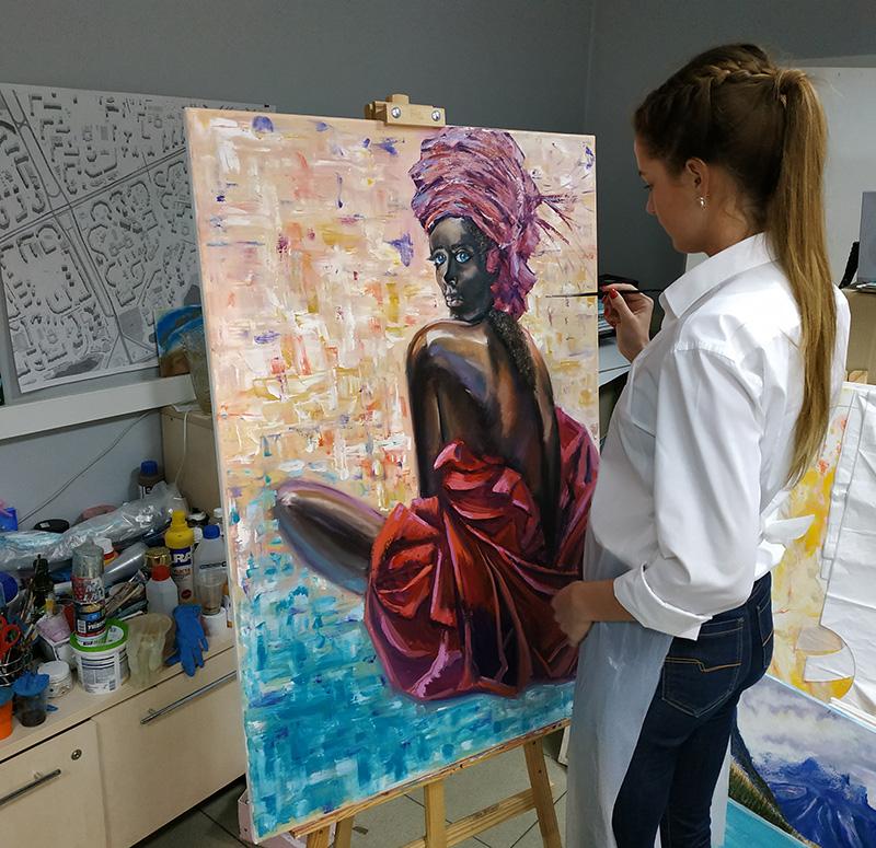 мастер-класс по портрету