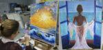 Как рисовать масляными красками. Уроки в Киеве